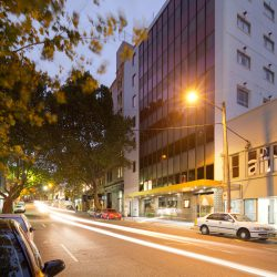 57 HOTEL EXTERIOR SURRY HILLS FOVEAUX STREET SYDNEY