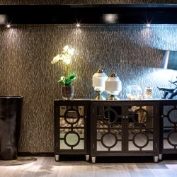 57 HOTEL SURRY HILLS LOBBY INTERIOR DESIGN FEATURE WALL